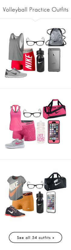 """Volleyball Practice Outfits"" by mbvs ❤ liked on Polyvore featuring NIKE, Ray-Ban, Wet Seal, LifeProof, Under Armour, Speck, OtterBox, Victoria's Secret, Valentine Goods and Victoria's Secret PINK"