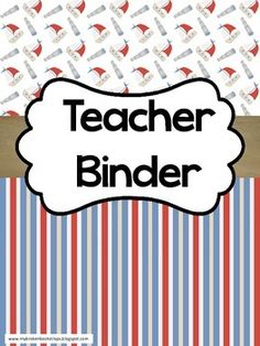 Limited Time Upgrade!  When you purchase your binder, simply leave a message in the ratings section with your email address and how you would like to personalize your binder.  I will add your name, school name, or a special divider to make it more personal and the fonts will match! Ahoy, matey!