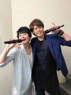 Miyano Mamoru with Fukuyama Jun Jun Fukuyama, Sans Cosplay, High School Host Club, Falling In Love With Him, Voice Actor, Beautiful Boys, Anime Manga, Actors & Actresses, The Voice