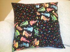 1 Novelty Pillow  17 x 17  Patchwork pillow  by NoveltyPillows4All, $22.95
