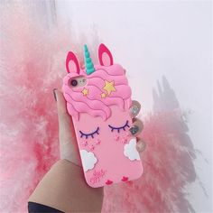 Cartoon Soft Silicone Phone Case For iPhone 6 7 8 Plus X Cover Mickey Judy Rabbit Smile Cat Tiger Stitch Unicorn Animal 1 3d Iphone Cases, Silicone Iphone Cases, Iphone 7 Plus, Iphone 4, Apple Iphone 6, Unicorn Phone Case, Ipad, Samsung, Plus 8