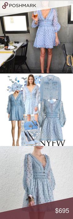 Zimmerman dress. NWT. Size 1 (US size 2-4) Timeless beauty. Zimmerman. Embroidered details. Size 1. US size 2-4. Zimmermann Dresses Mini