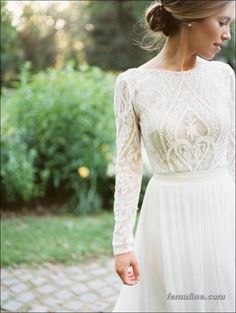 222 beautiful long sleeve wedding dresses (180)