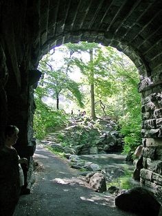 Huddlestone Arch - Central Park.  Rent-Direct.com - NYC Apartments for Rent with No Broker's Fee.