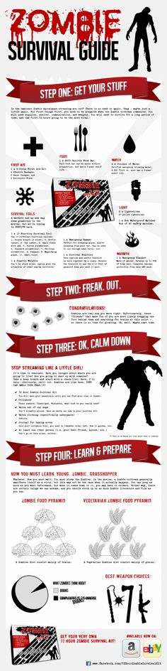 zombie survival - Google Search Zombie Survival Guide, Zombie Apocalypse Survival, Post Apocalypse, Survival Gear, Survival Skills, Zombies Survival, Survival Stuff, Survival Shelter, Homestead Survival