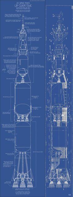 Redstone missile A-7 rocket engine turbopump cut-away ...