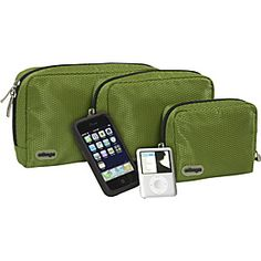 $19 for three small pouches is, in some ways, a good deal as they are light and lightly padded so are good for storing delicate things like cameras and cables. Importantly, they also protect other contents in your bag from sharp objects on things like plugs