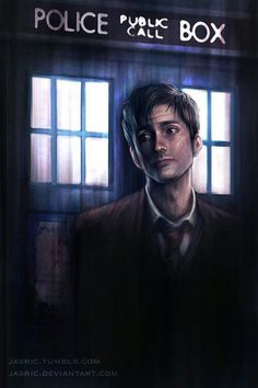 Doctor Who David Tennant Illustration