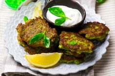 We love putting a new twist on a classic staple, and these Green Broccoli Fritters are just that. A fantastic new way to eat broccoli or just add more vegetables into your daily diet, these yummy little fritters are great for almost any meal. Vegetarian Recipes, Snack Recipes, Snacks, My Favorite Food, Favorite Recipes, Broccoli Stalk, Broccoli Fritters, Broccoli Recipes, Salmon Burgers