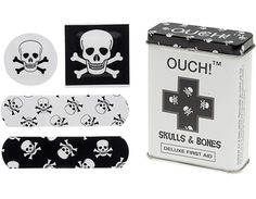 OUCH! SKULLS AND BONES BANDAGES #perpetualkidsummerfrenzy