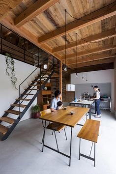 Maison cubique esprit loft par ALTS Design Office