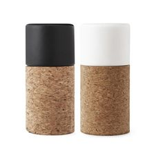 58°Salt & Pepper Shakers by Norman Copenhagen: No mistake shakes. #Salt__Shakers #Norman_Copenhagen