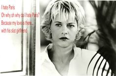 meg ryan haircut in french kiss Meg Ryan Movies, Movie Stars, Movie Tv, Meg Ryan Haircuts, Meg Ryan Hairstyles, French Kiss Film, Meg Ryan Images, Short Hair With Layers, Romantic Movies