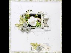 Scrapbooking process perfect moments layout Kaisercraft - YouTube