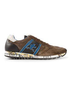 #premiata #sneakers #trainers #brown #blue #sky #menstrainers #mensneakers #menswear #mensfashion www.jofre.eu