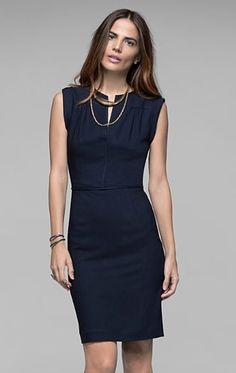 Women's Dress - Nev Stretch Viscose Dress - Theory.com