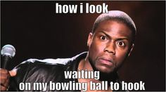 Is this your go to bowling look? Bowling Tips, Bowling Party, Bowling Ball, Bowling Quotes, Funny Memes, Jokes, Bowling Memes Funny, Haha So True, Bowling Shirts