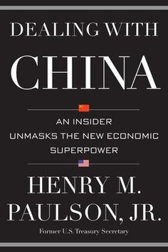 Hank Paulson has dealt with China unlike any other foreigner. Paulson had a pivotal role in opening up China to private enterprise. Then, he created the Strategic Economic Dialogue with what is now the world's second-largest economy. While negotiating with China on economic reforms, he safeguarded the teetering U.S. financial system. Paulson has worked with scores of top Chinese leaders. Now he takes readers behind closed doors to witness the future of China's state-controlled capitalism.