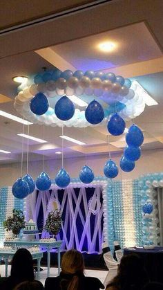 35 Simply Gorgeous DIY Balloon Decorations For Your Celebration # Baptism . 35 simply gorgeous DIY balloon decorations for your celebration # baptism … Birthday Balloon Decorations, Birthday Balloons, Baby Shower Decorations, Wedding Decorations, Balloon Ceiling Decorations, Balloon Columns, Balloon Arch, Diy Birthday, Birthday Parties