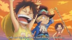 ASL, Ace, Sabo & Luffy ❤️ One Piece