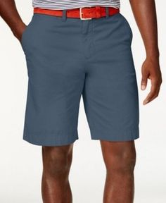 Tommy Hilfiger Blue Mens Size 40 Core 4-Pocket Chinos Shorts