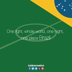 Today is the day! #Brasil2014