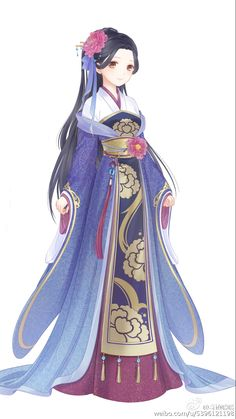 Anime girl in kimono   k I'm running out of descriptions xD