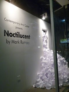 Noctilucent by Mark Rumsey  CAC Gallery May 3rd - June 16th