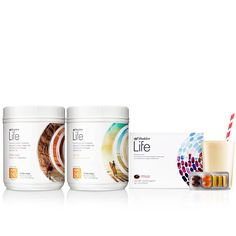 The best, most comprehensive nutritional system, Shaklee Life Plan Protein Shake, now with probiotics, and Life Strip Vitamins, now with Vivix (2 canisters, 1 month supply)...advanced formula