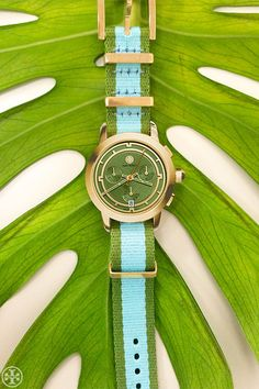Perfect timing: new watches with ribbon straps or in mixed metals   Tory Burch Watches. My fav colors together!