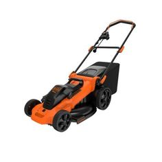 BLACK+DECKER 20 in. 13-Amp Corded Electric Mower-MM2000 - The Home Depot