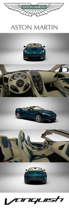 Aston Martin Vanquish Volante. Design your dream Aston Martin with our configurator. http://www.astonmartin.com/configure #AstonMartin