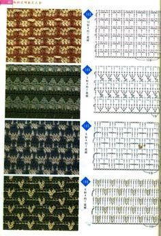 Diy Crochet Patterns, Crochet Chart, Crochet Diagram, Crochet Basics, Crochet Motif, Crochet Designs, Crochet Stitches, Stitch Patterns, Knitting Patterns