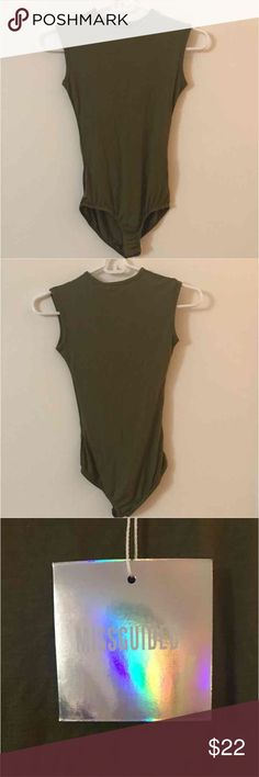 Missguided Bodysuit SIZE 4 NEVER WORN  PRICE IS FIRM NO TRADES Missguided Tops