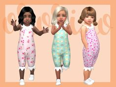 Ororizo's Toddler Playdate N06 - Onesie Collar - Toddlers SP needed