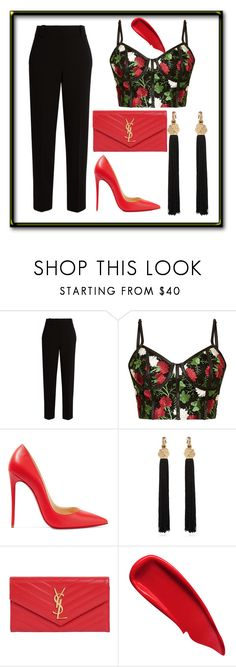 2 by anita-mykythak on Polyvore featuring мода, The Row, Christian Louboutin, Yves Saint Laurent and Sisley