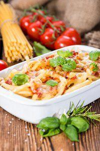 Photo de la recette Gratin de macaroni à l'italienne