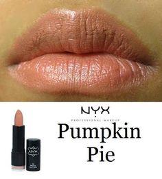 MAC ShyGirl dupe = NYX Pumpkin Pie