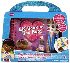 Tara Toy Doc McStuffins Big book of boo boos
