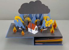 Revolution - Stop motion animation about the water cycle.