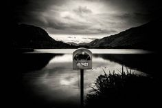 #bw #mailbox #lake