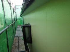 日々精進 理想の住宅: 外壁塗装 上塗り