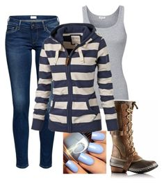 """Casual Day"" by jordan-hansen on Polyvore featuring Splendid and SOREL"