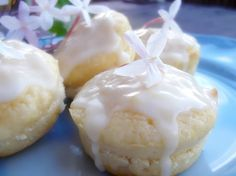 Lick The Spoon: Lime Sour Cream Cakes