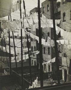 snowce:    Consuelo Kanaga, Tenements, New York, 1937