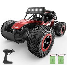 Rc Car Remote, Remote Control Cars, Monster Truck Toys, Toy Trucks, Airplane Car, Terrain Vehicle, Rims And Tires, Rc Model, Rc Cars