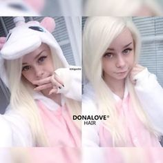 @donalovehair - WOW~~Such a cutie!!! Our cute babe @ichigochii still rock her white wig SNY014 from @donalovehair How do you love, girls?? Last day for big Xmas and New Salecheck out to see: www.donalovehair.com #donalovehair #donalove #white #cute#wig #hair #pretty #god