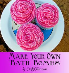 Guest writer, Chloe Tatro shows how you can make your own bath bomb cupcakes using Bramble Berry supplies! Read on to see how you can enter a drawing to win