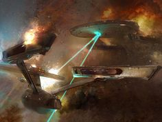 Cool Star Trek Drawing by pablolopez26, via Flickr