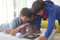 Sphero and Ollie are programmable robot like toys. this site tells you what to expect as you unpack and start playing with yours. Programmable Robot, Learn Robotics, Construction For Kids, Coding For Kids, Learning Environments, Educational Games, Projects For Kids, Kids Learning, Activities For Kids